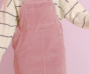 pink, outfit, and pastel image