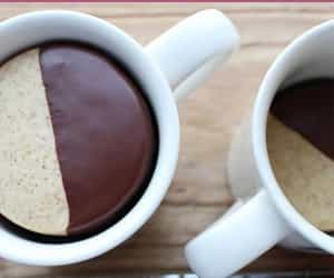chocolate, delicious food, and shortbread image