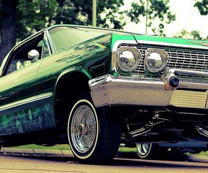 green and lowrider image