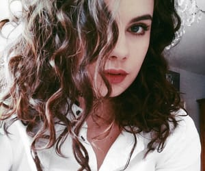 curly, girl, and haircut image