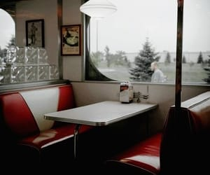 aesthetic, red, and diner image