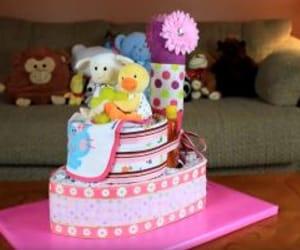 diaper cake and airplane diaper cake image