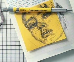 yellow, art, and aesthetic image