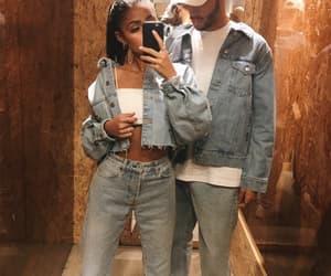 couple, goals, and denim image