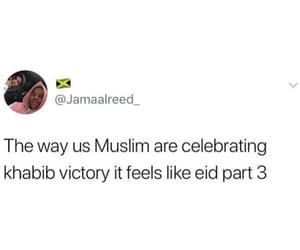 eid, victory, and mc gregor image