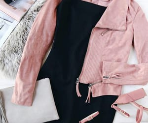 pink, clothes, and clothing image