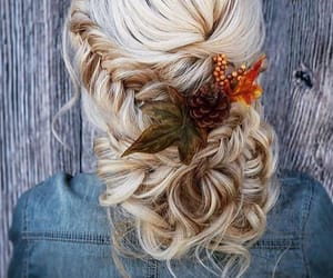 automne, autumn, and blond hair image