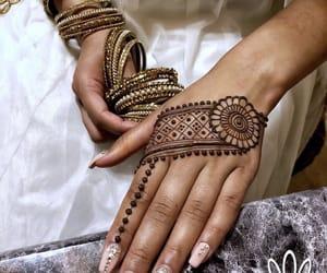 arabic, bride, and india image