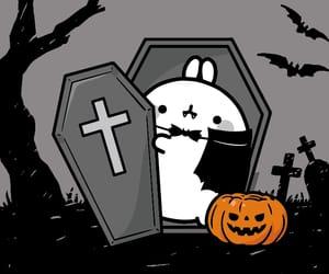 animal, bunny, and Halloween image