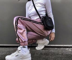 fashion, Fila, and girl image
