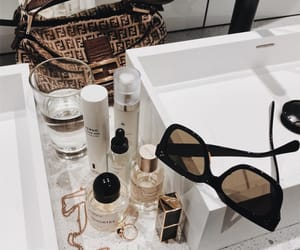 accessories, makeup, and sunglasses image