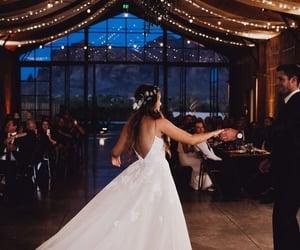 bridesmaids, celebration, and ceremony image