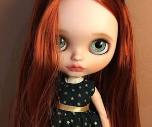 doll, beautiful, and blythe doll image