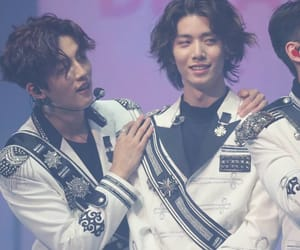 youngbin, hwiyoung, and sf9 image