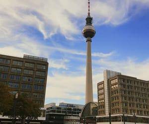 alexanderplatz, fall, and fernsehturm image