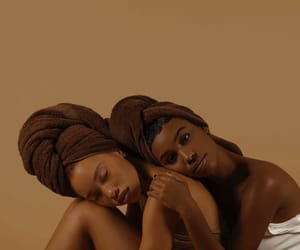 beauty, chocolate, and girls image