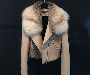 fashion, jacket, and fur image