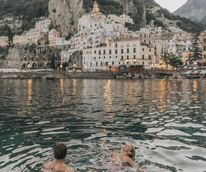 travel, couple, and photography image