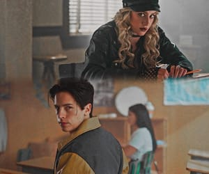 alice cooper, cole sprouse, and riverdale image