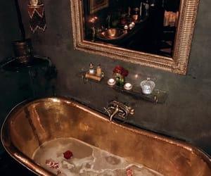 gold, luxury, and decor image