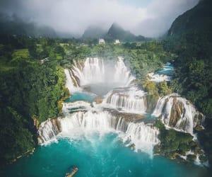 nature, travel, and waterfalls image