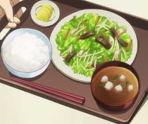 aesthetic, anime, and anime food image