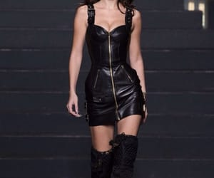 model, Moschino, and fashion image