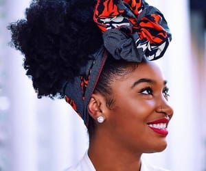 Afro, beautiful, and puffs image