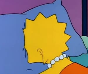 lisa simpson, mood, and the simpsons image