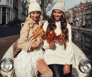 autumn, fashion, and friends image