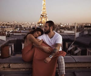 paris, couple, and love image