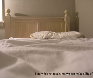 bed, love, and complete image