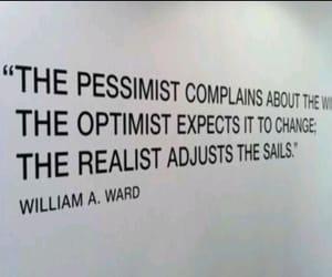 life, realist, and optimist image