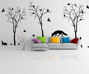 etsy, wall sticker art, and Vinyl Decal image