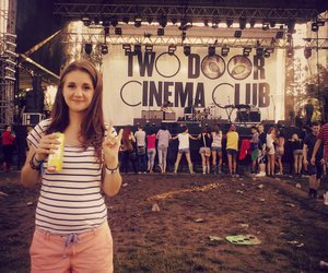 summer, two door cinema club, and festival feeling image