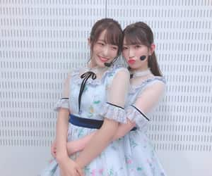 nmb48, yoshida akari, and kojima karin image