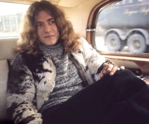 robert plant, led zeppelin, and rock image