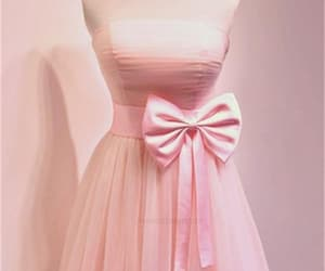 simple homecoming dress and prom dresses pink image
