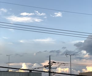 beautiful, blue, and sky image
