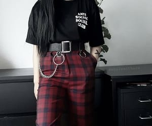 anti-social, style, and her image