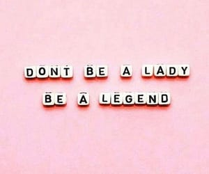 lady, legend, and quote image