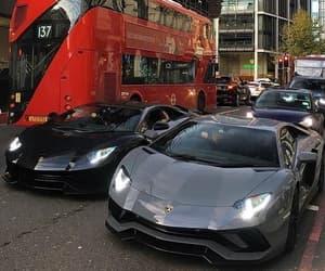 black, car, and Lamborghini image
