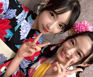 nmb48, murase sae, and jonishi rei image