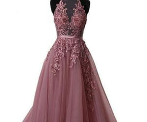 long prom dresses, appliques prom dresses, and prom dresses for cheap image
