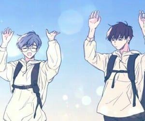 Boys Love, sakura card captor, and touya x yukito image