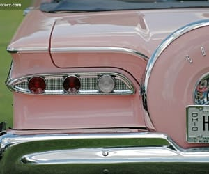cars, Edsel, and pastel image