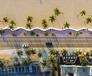 beach, california, and love image