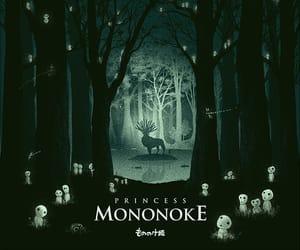anime, princess mononoke, and ghibli image