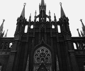 gothic, black, and castle image