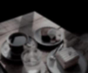 black, blurred, and dark image